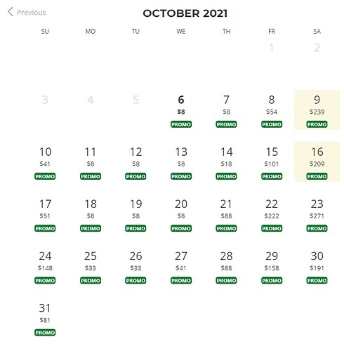 Rio October 2021
